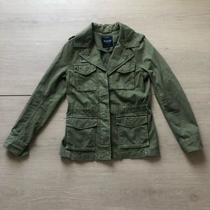 Madewell | Green Military Utility Jacket